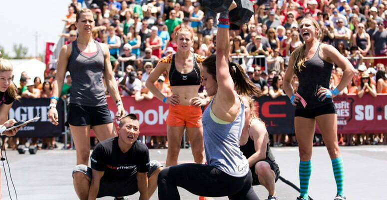 Crossfit Games. Wow. Just wow.