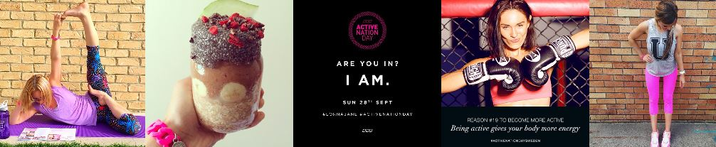 Lorna Jane Active Nation Day: Sunday 28 September 2014