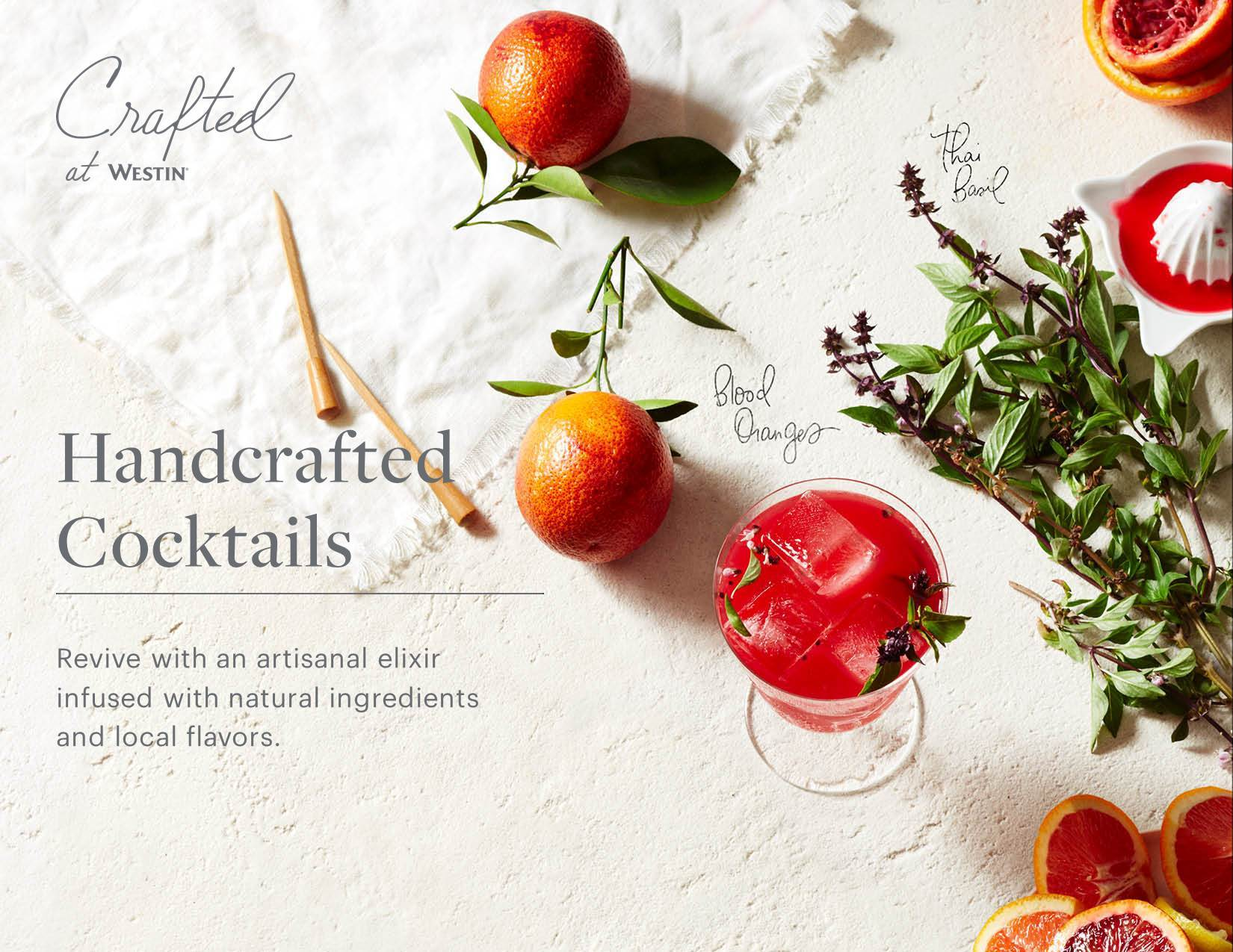 Handcrafted cocktails? Yes, they exist!